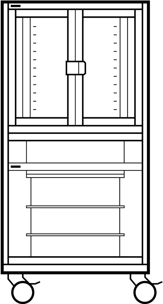 Schematic Drawing of the S-Type Essential Cryostat